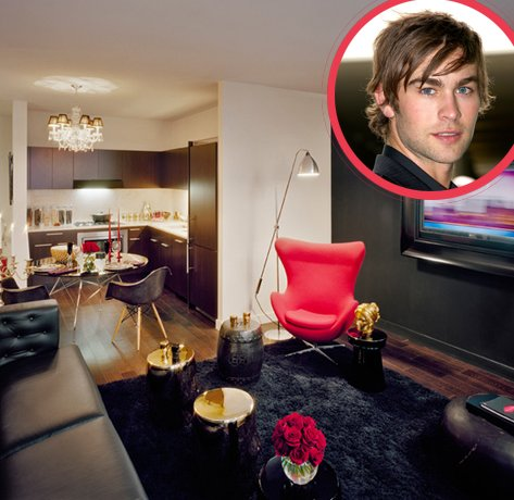 Chace Crawford rental apartment