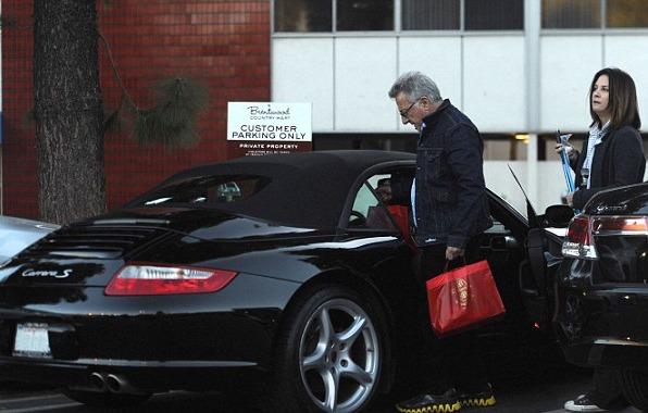Dustin Hoffman car
