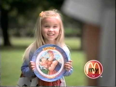 Emily Osment Happy Meal Ads