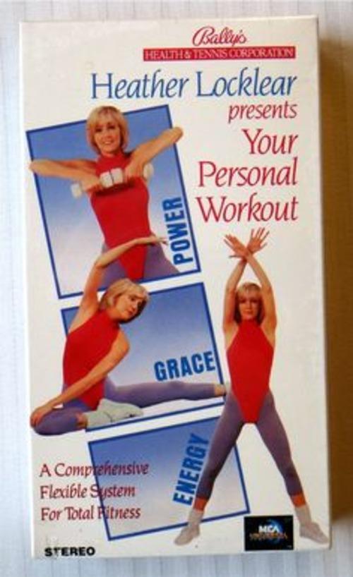 Heather Locklear Workout