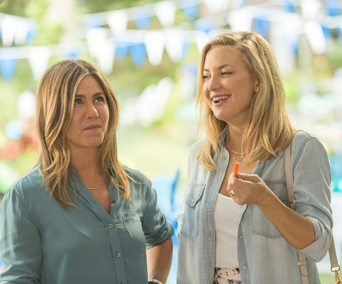 "Jennifer Aniston and Kate Hudson in ""Mother's Day"