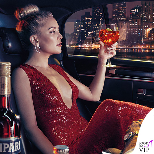 Kate Hudson in Campari Calendar