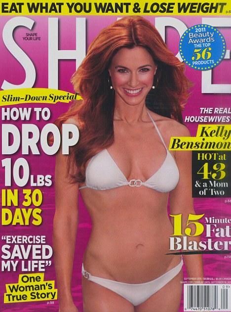 Kelly Bensimon shape cover