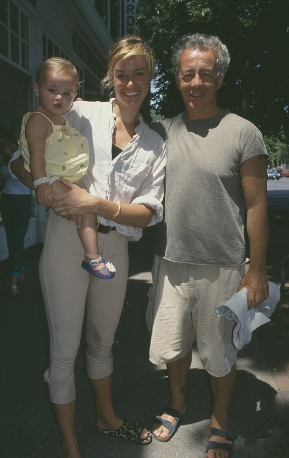 Kelly Bensimon then-husband Gilles and their daughter