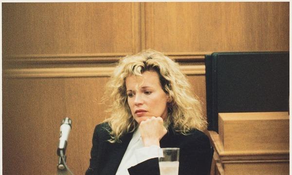 Kim Basigner in the court