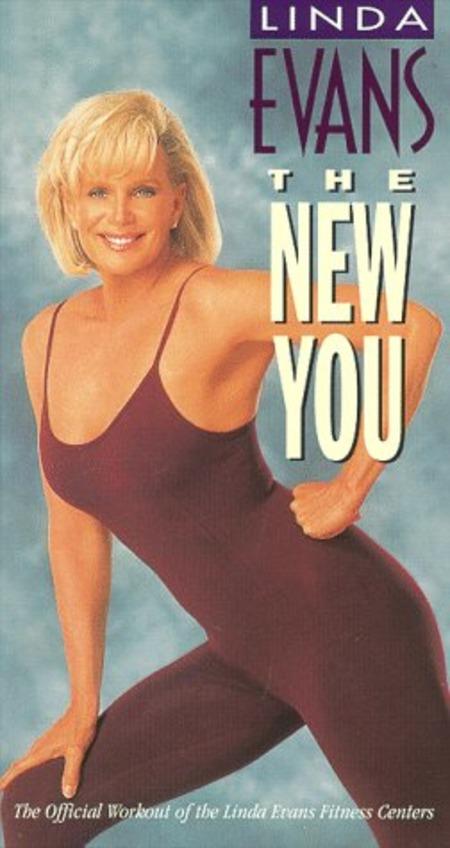 Linda Evans workout video