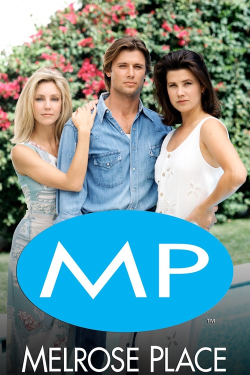 Heather Locklear, Daphne Zuniga, Grant Show in Melrose Place