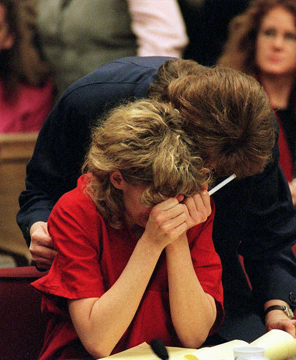 Mary Kay Letourneau during the court process
