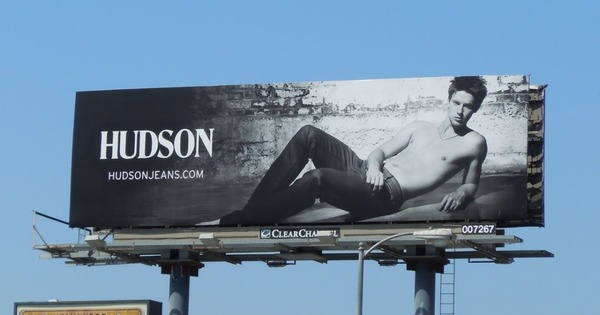 Patrick Schwarzenegger in Hudson Jeans ads