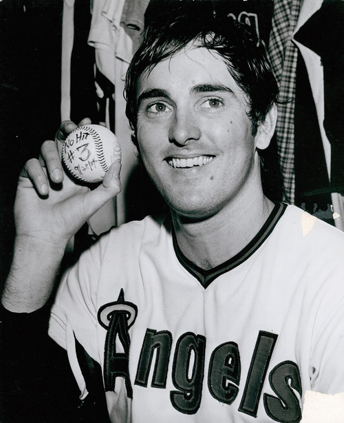 Nolan Ryan has just pitched third no-hitter