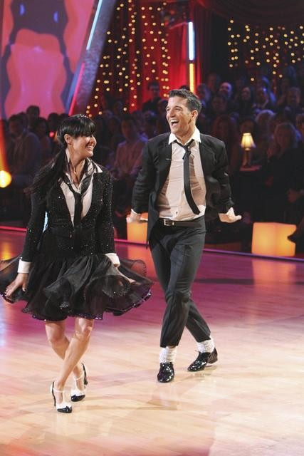 Shannen Doherty and Mark Ballas at DWTS