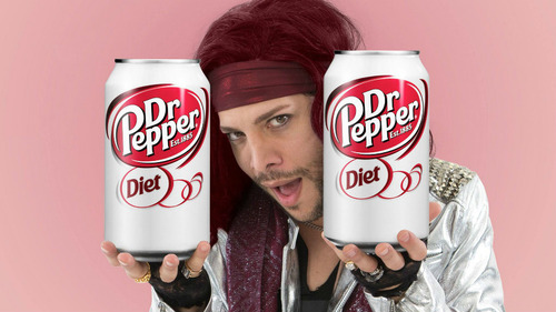 Justin Guarini in Dr. Pepper commercial
