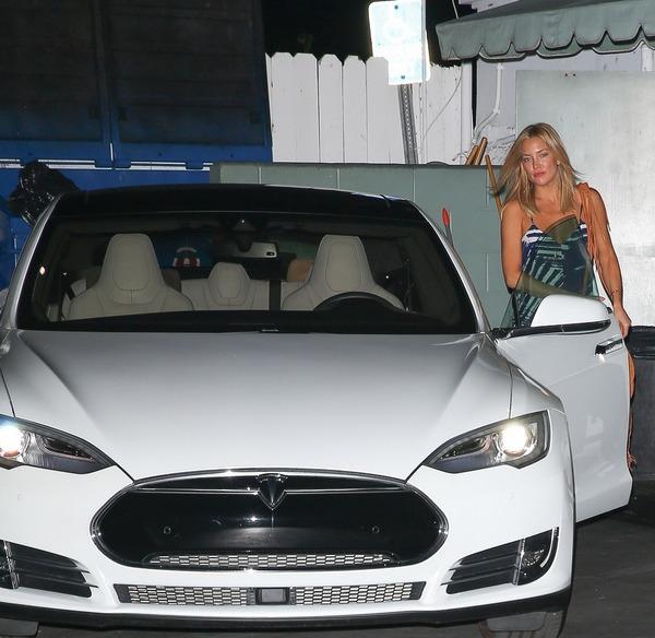 Kate Hudson's Tesla Model S