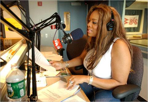 Wendy Williams on the radio