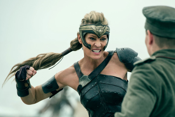 "Robin Wright in ""Wonder Woman"""