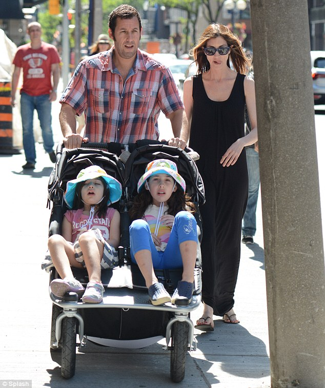 Adam and Jackie Sandler daughters