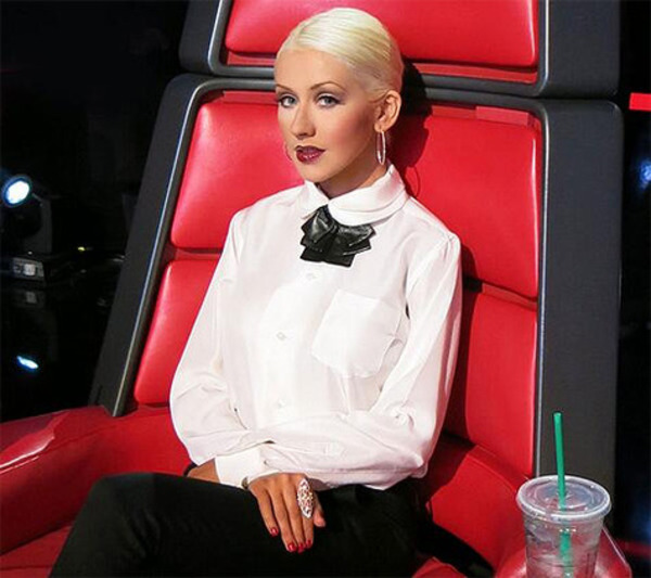Christina Aguilera got the highest restaurant bill