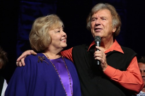 Bill Gaither and his wife Gloria