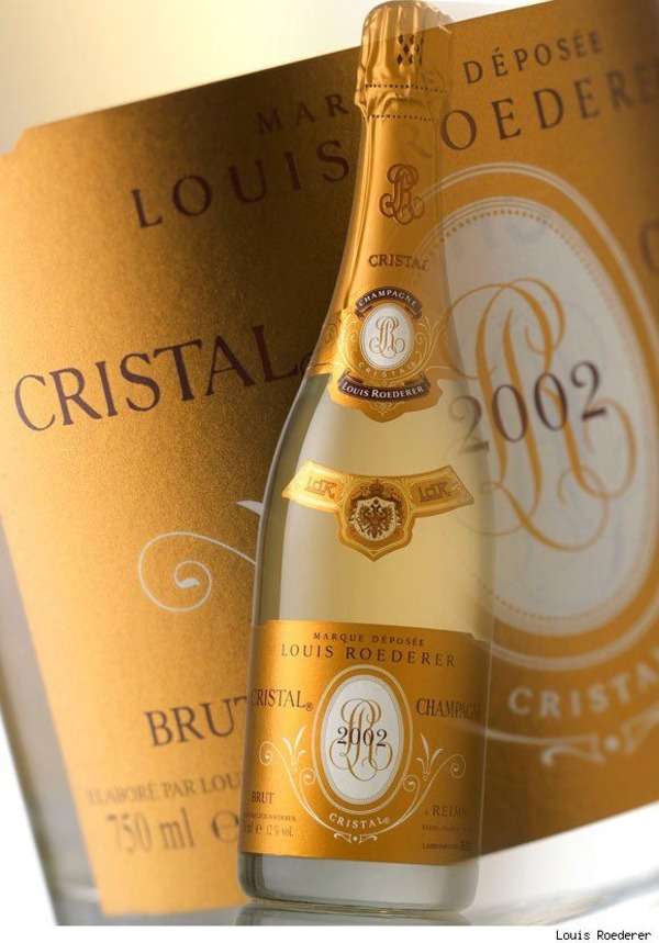 Cristal champagne for James LeBron