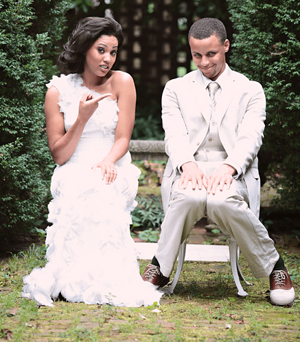 Ayesha Curry and Steph Curry Wedding