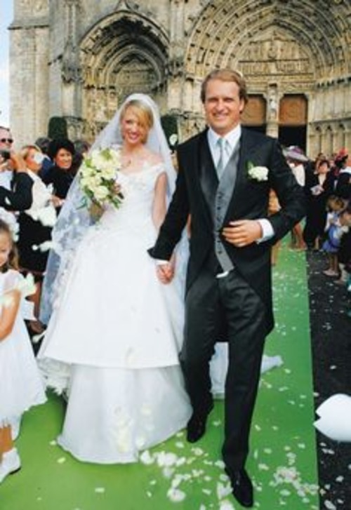 Delphine Arnault and Alessandro Vallarino Gancia wedding price