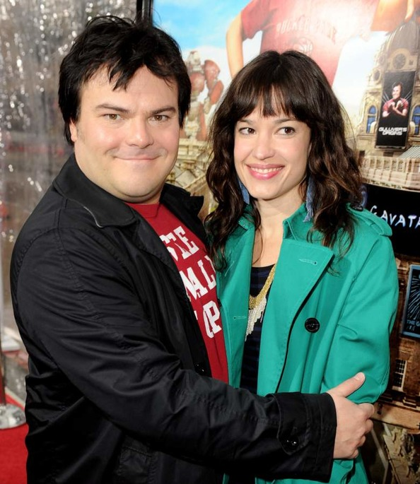 Jack Black and his wife Tanya