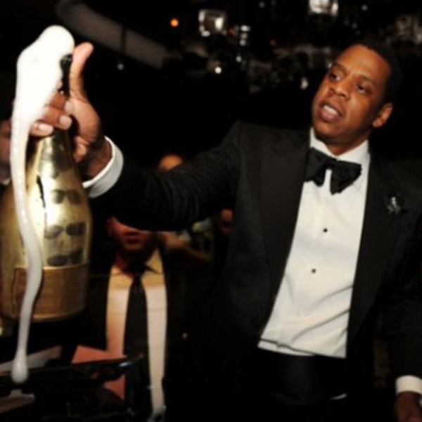 Jay Z orders champagne