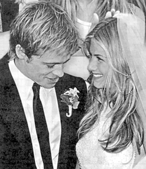 Jennifer Aniston and Brad Pitt expensive wedding
