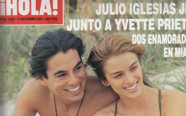 Yvette Prieto-Jordan and her ex-BF Julio Iglesias Jr