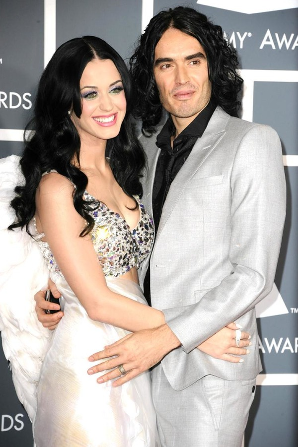 Katy Perry gave a special gift to Russell Brand