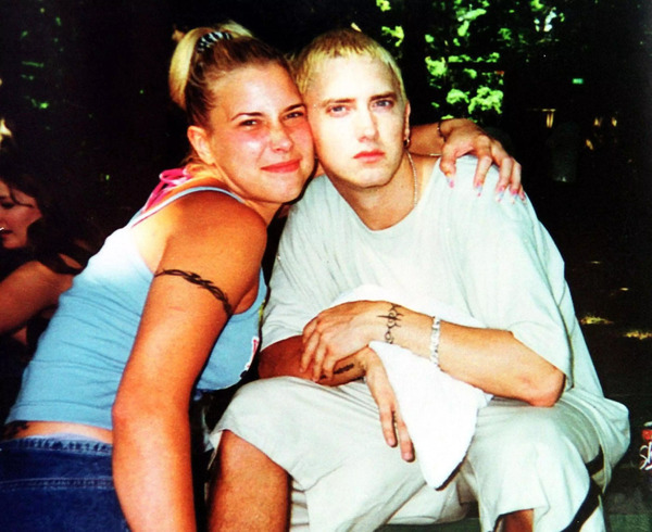 Kim and Eminem before fame