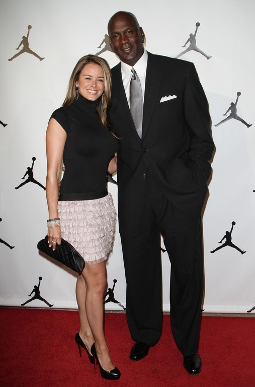 Michael Jordan and his Wife Yvette