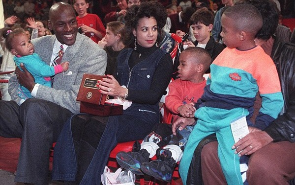 Michael Jordan kids from the first marriage