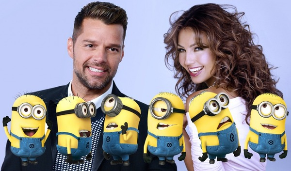 Thalia and Ricky Martin voice Scarlet and Herb Overkill