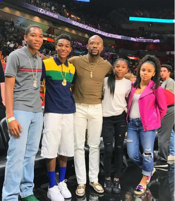 Floyd Mayweather's kids