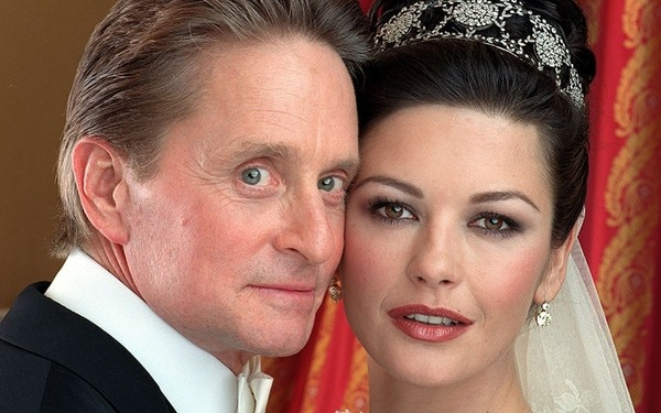 Michael Douglas and Catherine Zeta-Jones expensive wedding