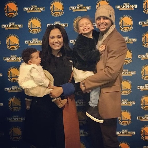 Stephen Curry wife and kids