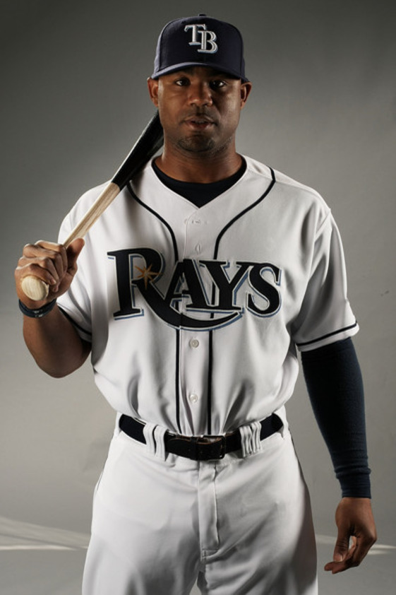 Carl Crawford in his Tampa Bay Rays time