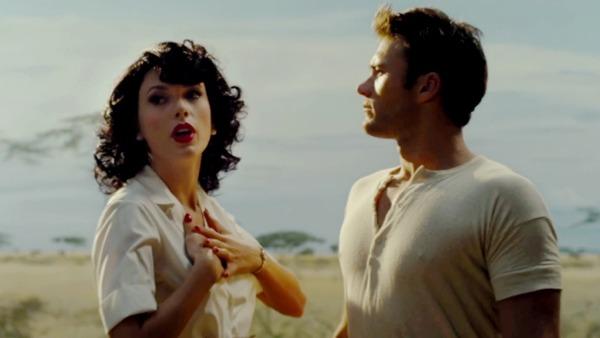 """Scott Eastwood in Taylor Swift's music video """"Wildest Dreams"""""""