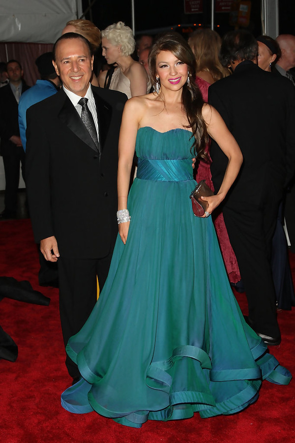 Thalia and her husband Tommy Mottola
