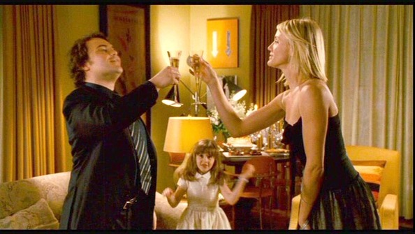"Jack Black and Cameron Diaz in ""The Holiday"""