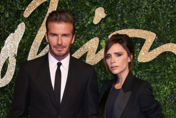 David and Victoria Beckham presented Audis to their mothers