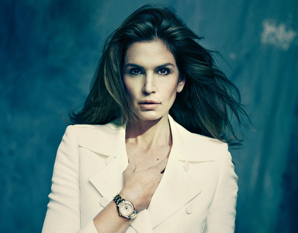 Cindy Crawford Omega watch