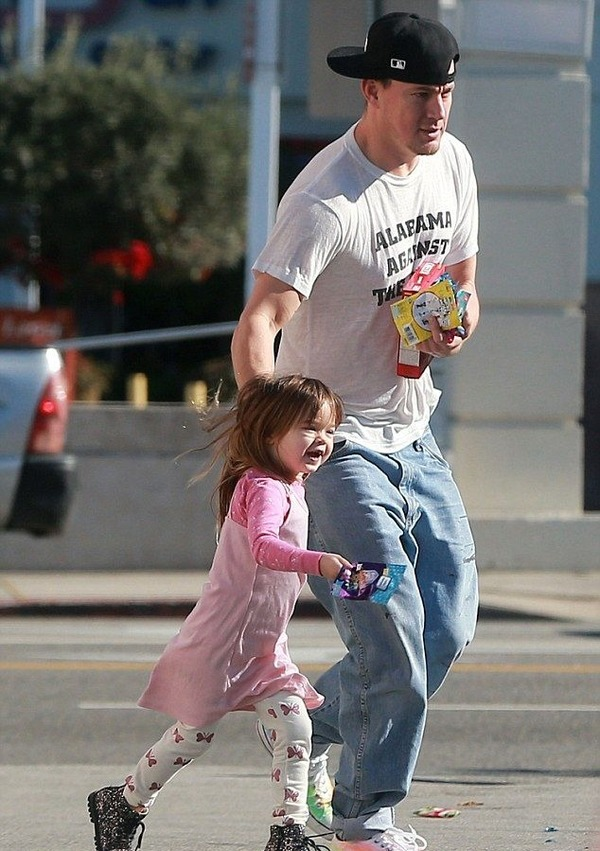 Everly and Channing Tatum