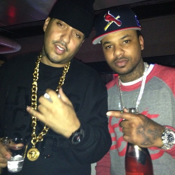 Chinx Drugz and French Montana