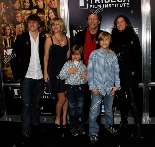 Jon Bon Jovi wife and children