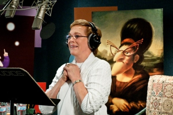 "Julia Andrews voices Gru's Mom in ""Despicable Me 3"""