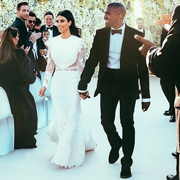 Kim Kardashian and Kanye West wedding price