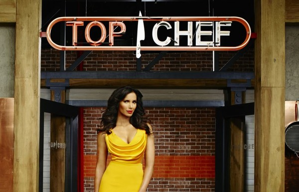 Padma Lakshmi as the host of Top Chef
