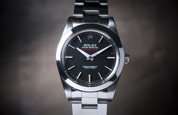 Usher Rolex Milgauss watch